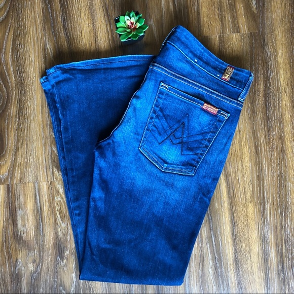 7 For All Mankind Denim - 7FAM• Lexie 'A' Pocket• Size 31 PETITE